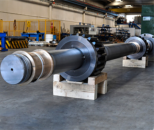 Shaft with couplings 2